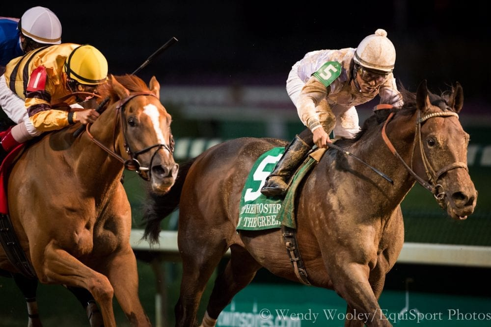 Ron the Greek (5) edges Wise Dan in 2012 Stephen Foster
