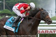 Fort Larned captures the 2012 Whitney Handicap