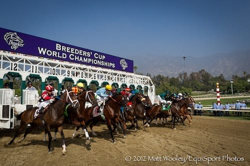 Santa AnitaPark, host for the 2012 Breeders' Cup Championships
