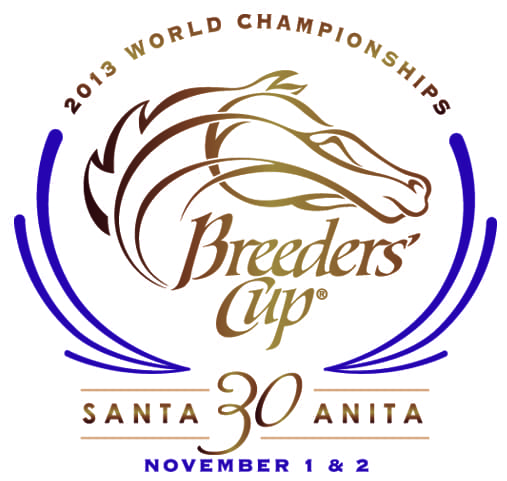 2013 Breeders' Cup 30th anniversary logo