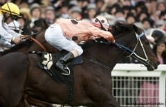 Black Caviar, shown winning the Diamond Jubilee at Royal Ascot