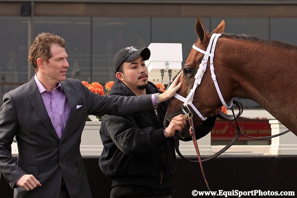 Bobby Flay Talks Breeders Cup Love Of Racing On The Jim