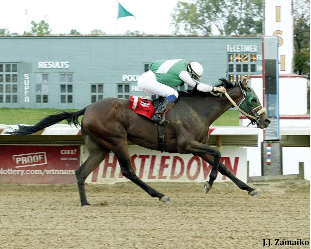 Thistle downs horse racing