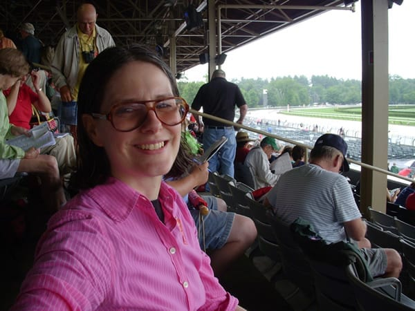 Dana Byerly at Saratoga