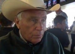 D. Wayne Lukas, who trains Take Charge Brandi