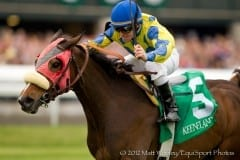 Daisy Devine and James Graham win the 2012 Jenny Wiley at Keeneland
