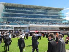 """Flemington Race Course is home to the """"race that stops a nation,"""" the Melbourne Cup"""