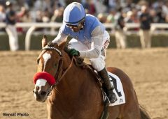 Goldencents wins the Sham Stakes