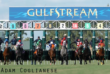 Opening Day at Gulfstream Park 2011