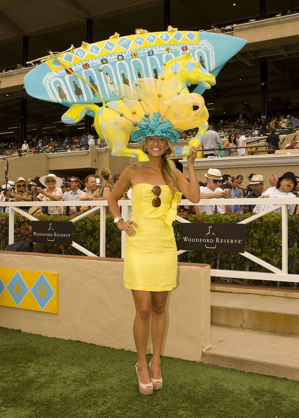 2011 Winning entry in the 'One and Only Truly Fabulous Hat Contest' at Del Mar