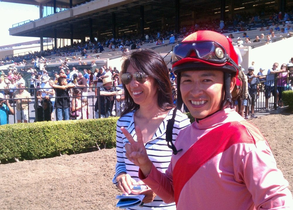 Japanese Jockey Fukunaga Breaks Through at Del Mar
