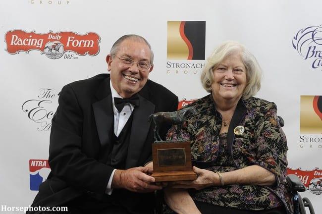 Eclipse Award 2013 Ken-and-Sarah-Ramsey-with-Eclipse-Award-650x432