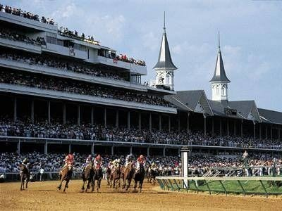 Kentucky Derby grandstand