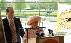 Marylou Whitney and John Hendrickson