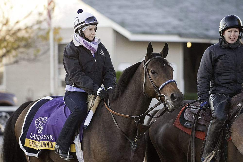 Medaglia D Amour Scratched From Ladies Classic With Fever