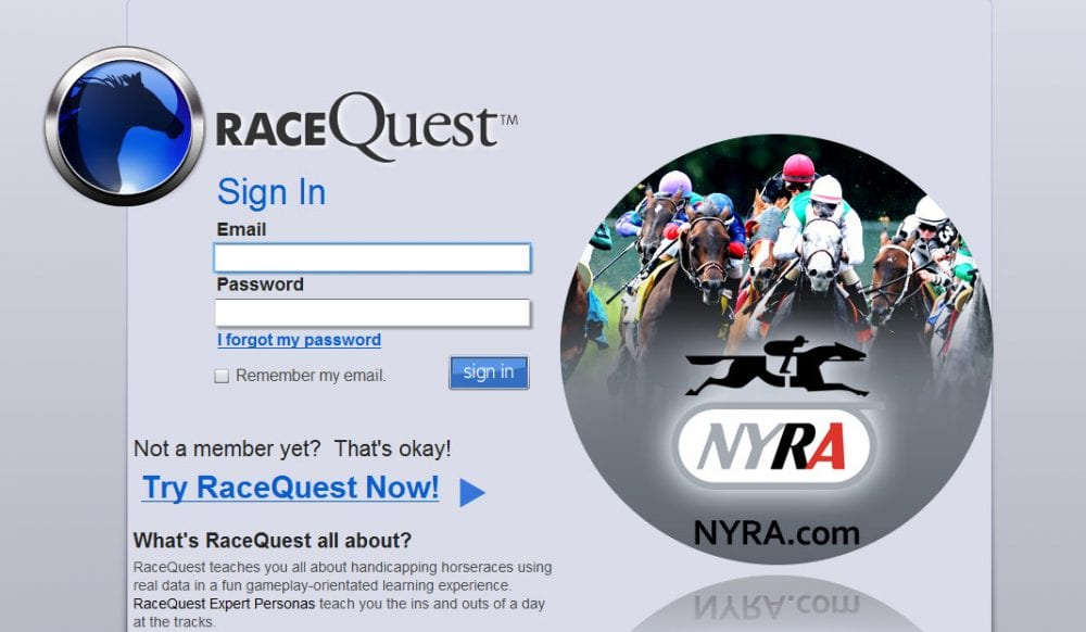 NYRA launches online app aimed at novice bettors - Horse Racing News
