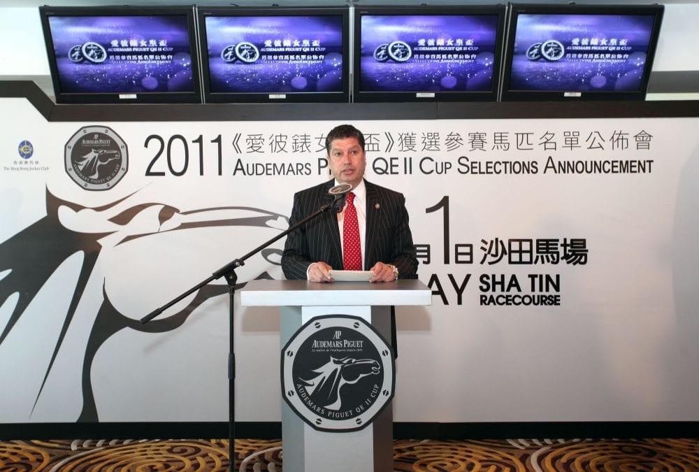 The Breeders' Cup Forum: Hong Kong Jockey Club - Horse