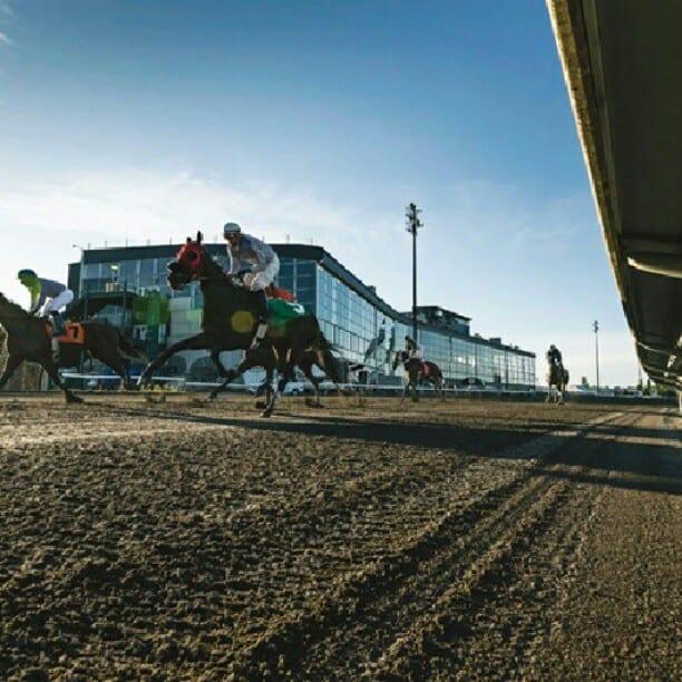 Racing at Portland Meadows