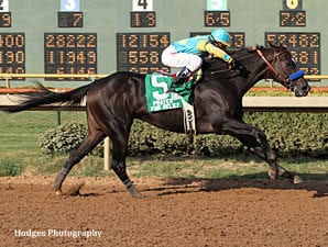 Prayer for Relief wins the 2011 Super Derby