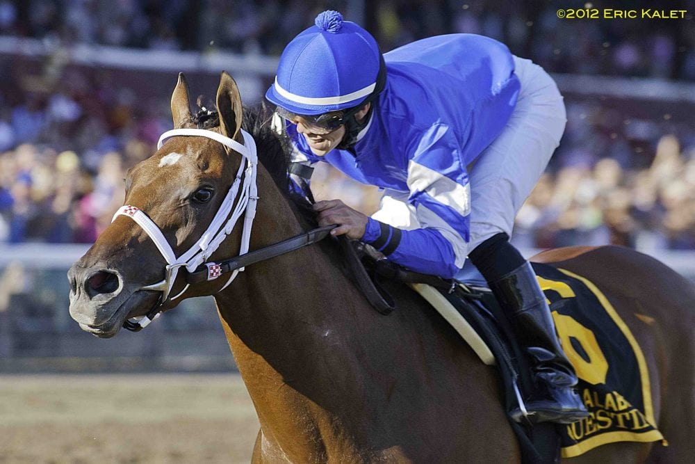 Questing wins Alabama Stakes
