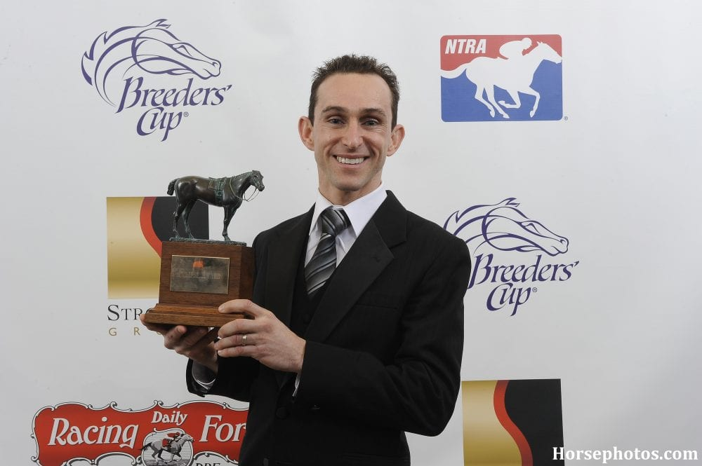 Ramon Dominguez with Eclipse Award