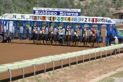 Five horses were scratched from Ruidoso Downs stakes races on Sunday.