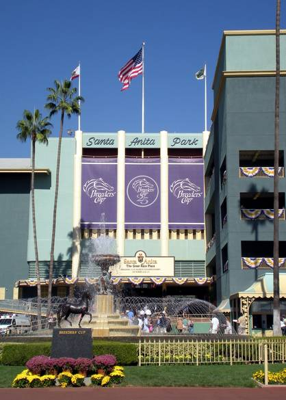 It S Official Breeders Cup To Santa Anita In 2013