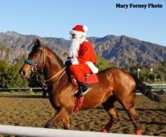 Santa's gift to racing fans comes one day after Christmas at Santa Anita