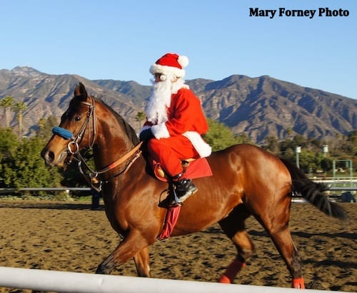 Santa's gift to racing fans comes one day after Christmas at Santa Anita