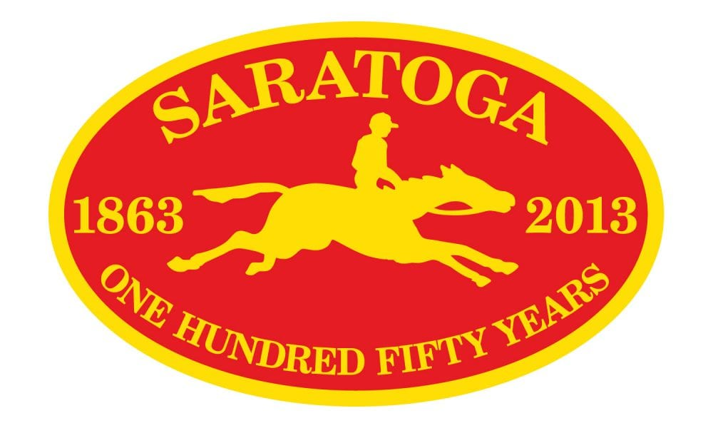 Saratoga 150th anniversary logo