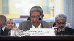 Gural testified at a 2012 Senate hearing on drugs in racing