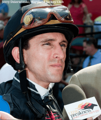 Leading jockey Ramon Dominguez hung up his tack after a head injury in 2013.