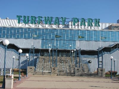 Turfway Park entrance