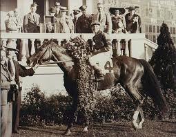 Whirlaway after winning Kentucky Derby