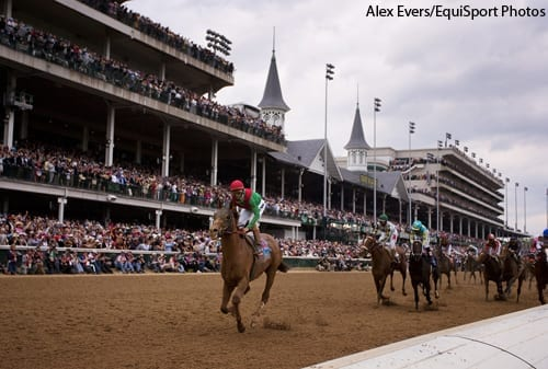 Animal Kingdom wins the Kentucky Derby.
