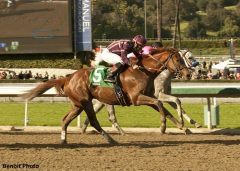Hear the Ghost wins the San Felipe