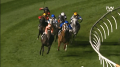 Black Caviar takes command of 2013 William Reid Stakes