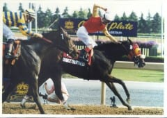 Dancethruthedawn and Gary Boulanger win the Queen's Plate
