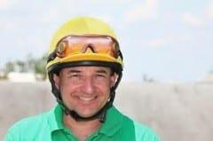 Former jockey Frank Lovato Jr.