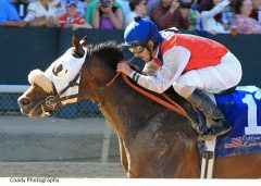 Cyber Secret wins the Oaklawn Handicap