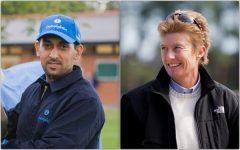 Trainers Mahmood Al Zarooni and Jane Cibelli
