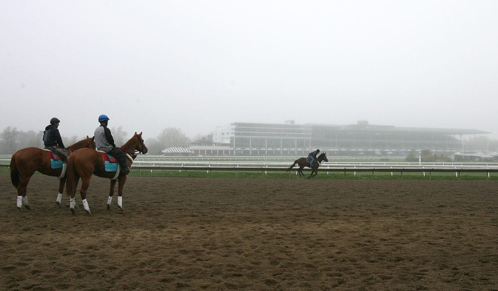 Monmouth Park workout