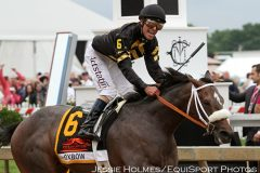 Oxbow wins the Preakness