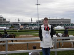 The Paulick Report's Natalie Voss attends her first Kentucky Derby