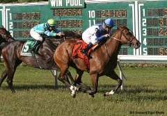 Ruthenia wins Miss Liberty Stakes at MP