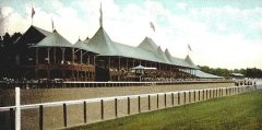 A postcard of Saratoga Race Course, 1907