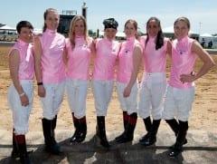 Female jockeys will take on the boys again on Black-Eyed Susan Day