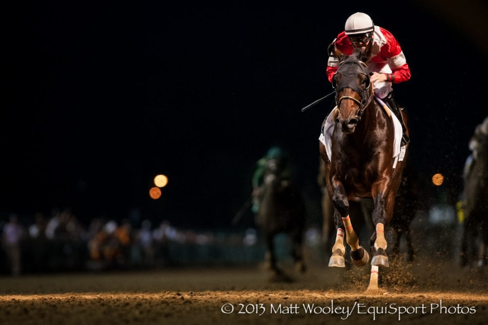 Fort Larned rolls to victory in the Stephen Foster H.