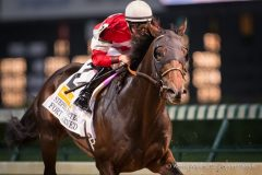Fort Larned wins the Stephen Foster H. going away