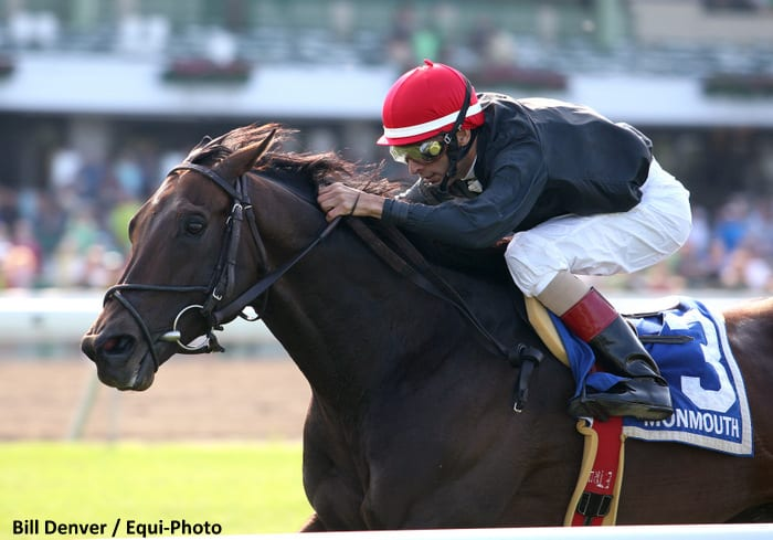 Boisterous Romps To Monmouth Stakes Win Horse Racing News Paulick Report